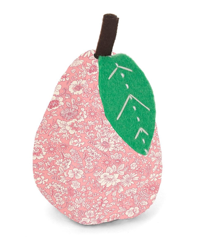 Liberty London - Pear Pin Cushion - Emily Silhouette (Pink)