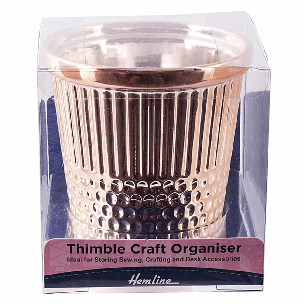 Thimble  Desk Craft Organiser (Rose Gold)