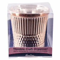 Thimble  Desk Craft Organiser (Rose Gold)