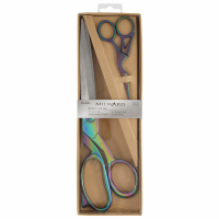 Rainbow Scissors Gift Set - Dressmaking (25cm) and Embroidery (11.5cm)