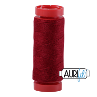 Aurifil Wool 12wt, Col. 8403 Dark Raspberry