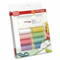 Gutermann Thread Set - Sew-All 100m x 8 + Seam Gauge
