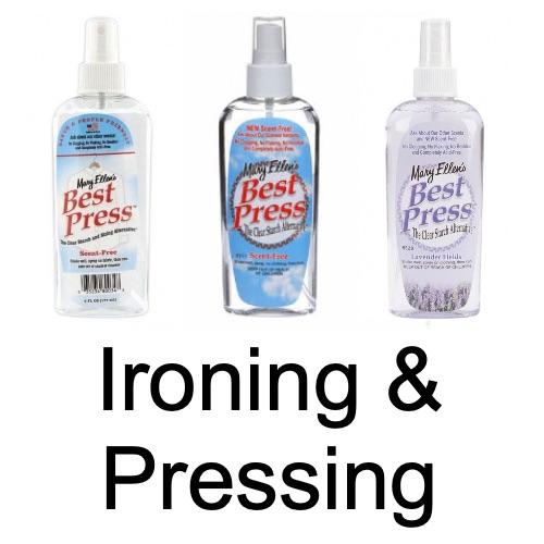 Ironing & Pressing
