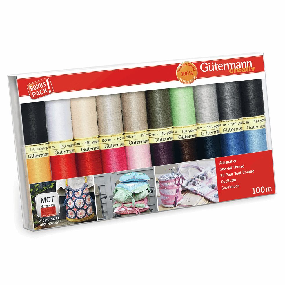 Gutermann Thread Set - Sew-All 100m x 20