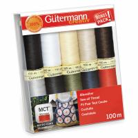 Gutermann Thread Set - Sew-All 100m x 10 (Basics)