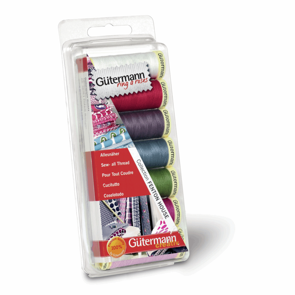 Gutermann Thread Set - Sew-All 100m x 7 - 'Fenton House'