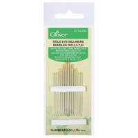 Milliners Needles - Size 3-9 (Clover)