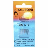 Ballpoint Needles - Size 5-10 (Pony)