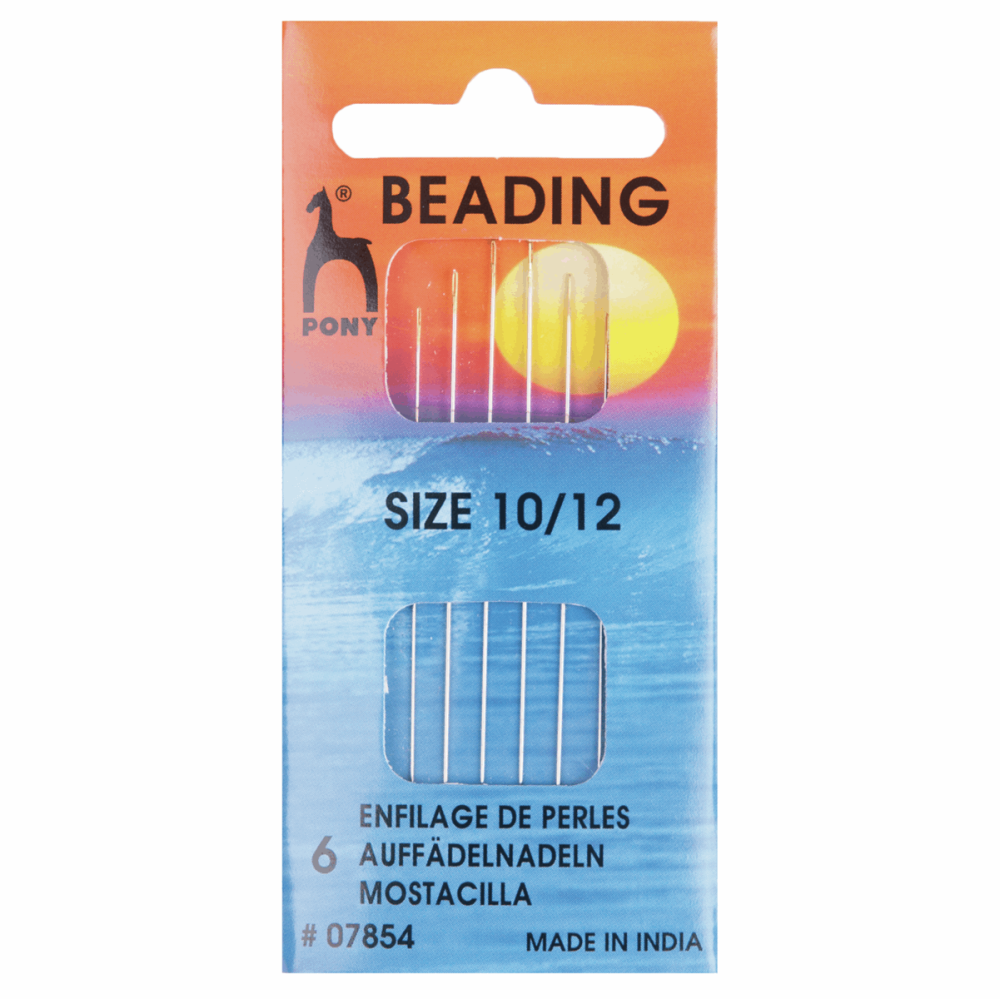 Beading Needles - Size 10-12 (Pony)