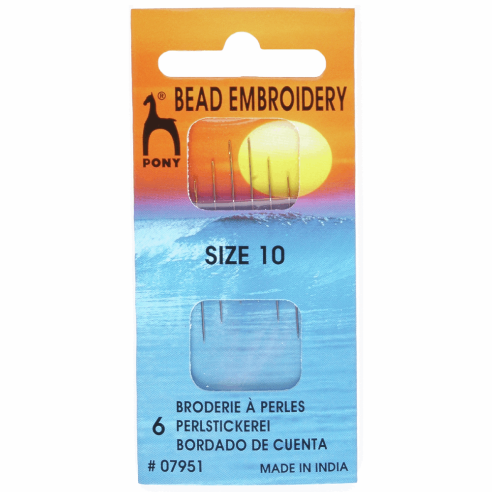 Bead Embroidery Needles - Size 10 (Pony)