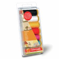 Gutermann Thread Set - Natural Cotton 100m x 7 (Solid Colours)