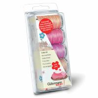 Gutermann Thread Set - No. 30 Cotton 300m x 5 (Pinks and Purples)