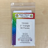 """3"""" Equilateral Triangle Paper Pieces"""