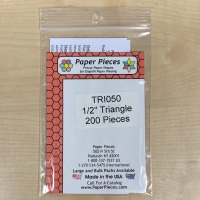 """½"""" Equilateral Triangle Paper Pieces"""