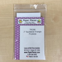 """2"""" Equilateral Triangle Paper Pieces"""