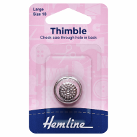 Metal Thimble - Large (Hemline)