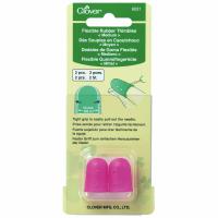 Flexible Rubber Thimbles - Medium (Clover)