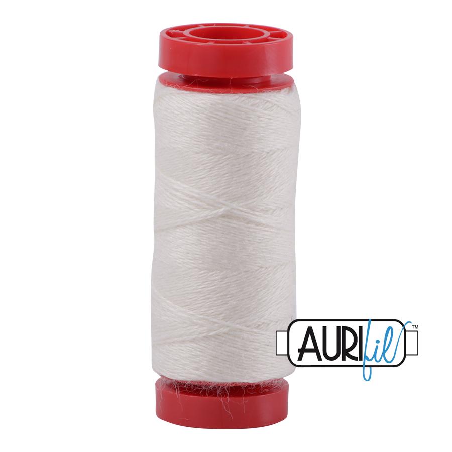 Aurifil Wool 12wt, Col. 8328 Eggshell