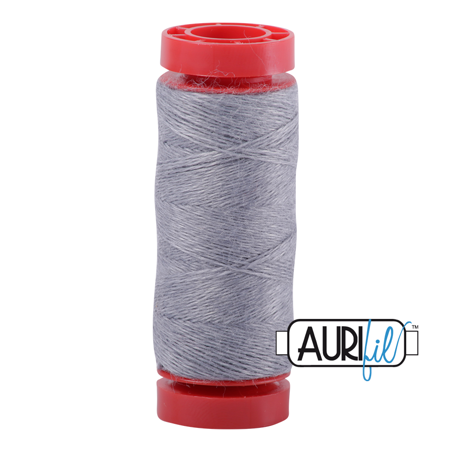 Aurifil Wool 12wt, Col. 8081 Granite