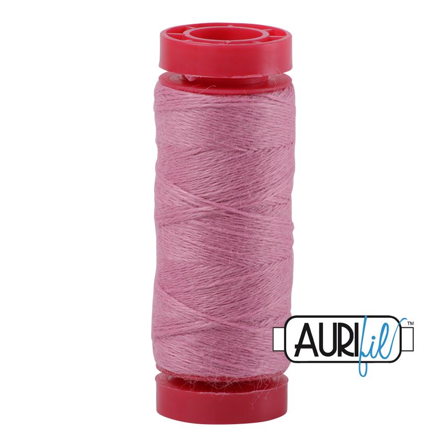 Aurifil Wool 12wt, Col. 8464 Faerie Pink