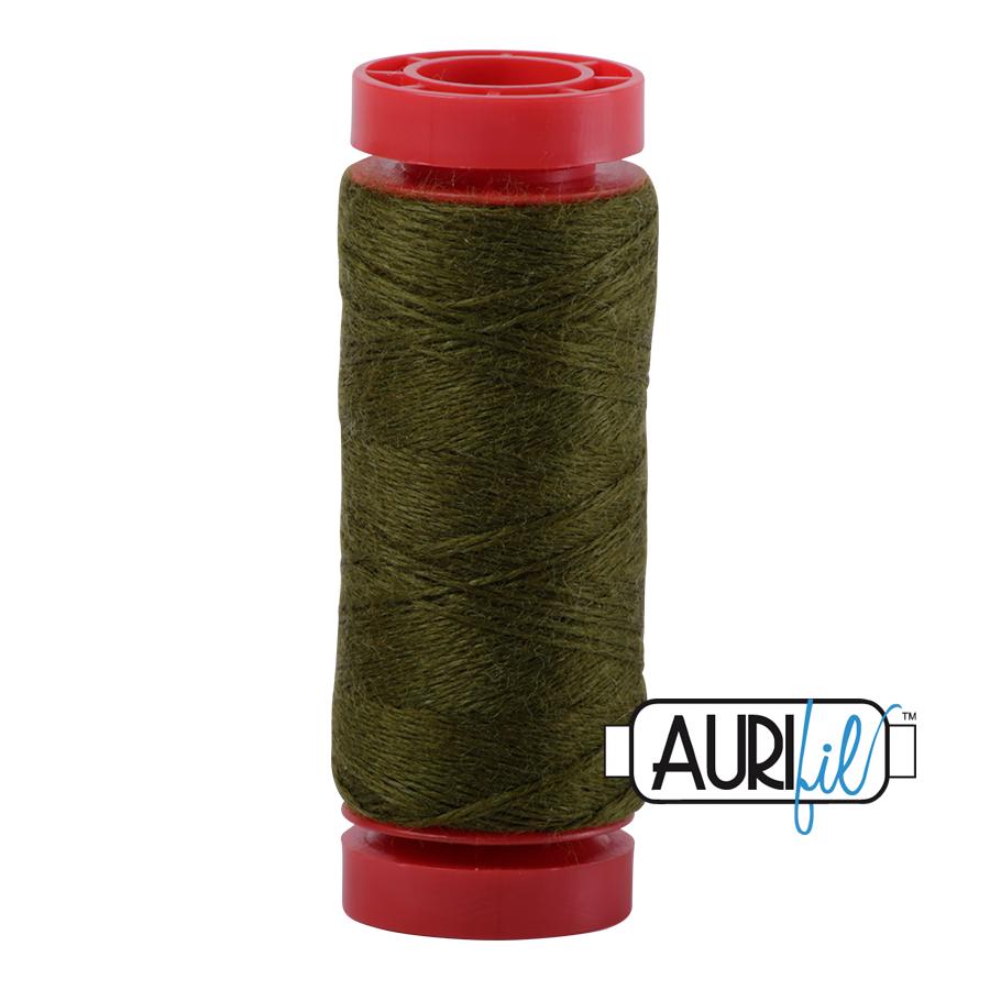 Aurifil Wool 12wt, Col. 8950 Light Olive