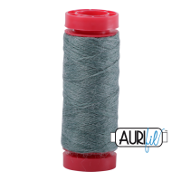 Aurifil Wool 12wt, Col. 8886 Sea Green Melange
