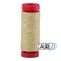 Aurifil Wool 12wt, Col. 8115 Light Lemon