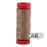 Aurifil Wool 12wt, Col. 8342 Wheat