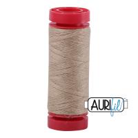 Aurifil Wool 12wt, Col. 8343 Flax