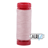 Aurifil Wool 12wt, Col. 8420 Baby Pink