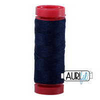 Aurifil Wool 12wt, Col. 8784 Bright Midnight