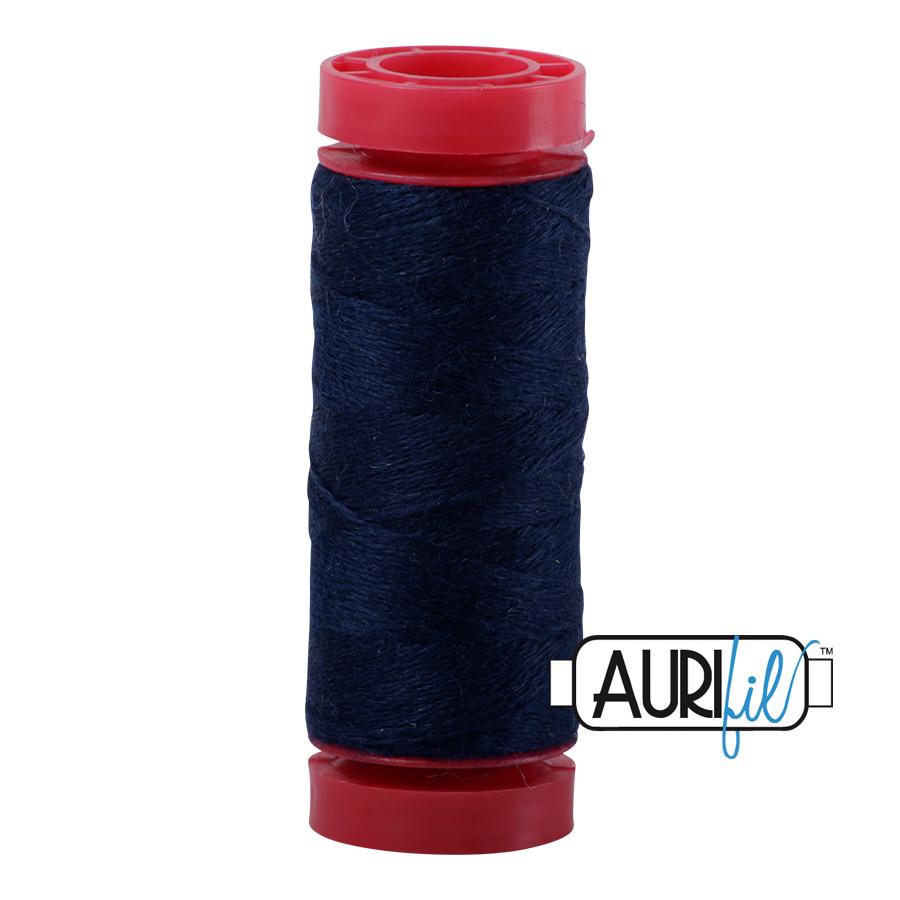 Aurifil Wool 12wt, Col. 8784 Bright Midnight