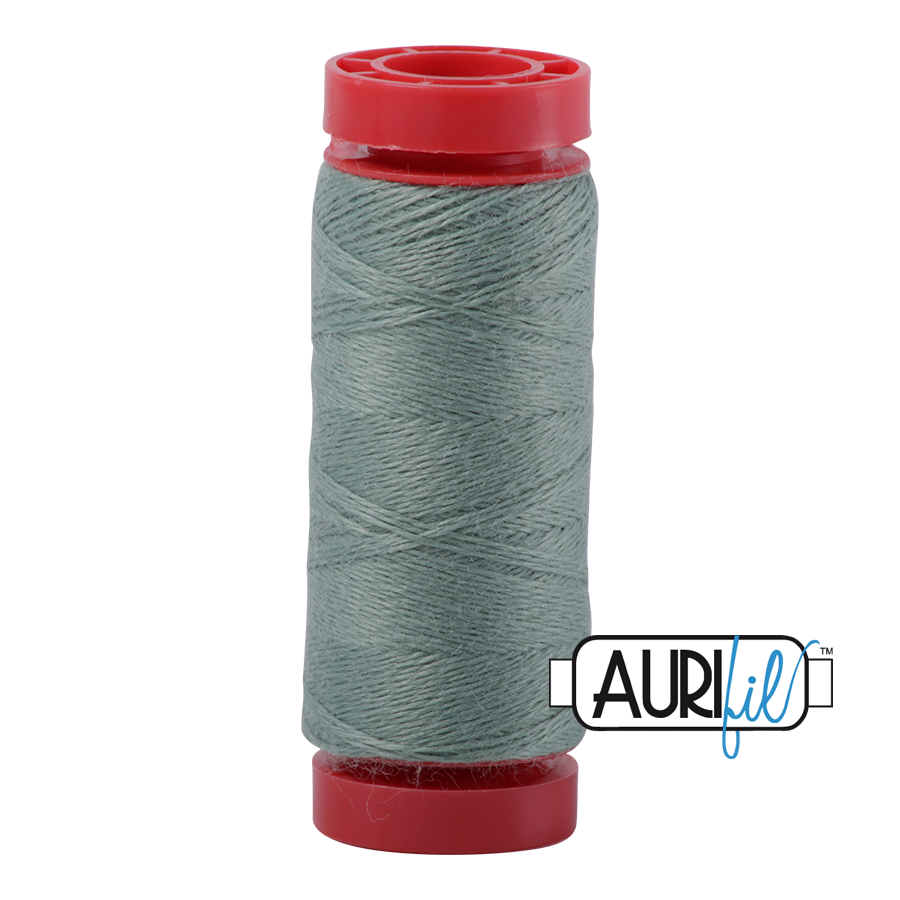 Aurifil Wool 12wt, Col. 8945 Sage