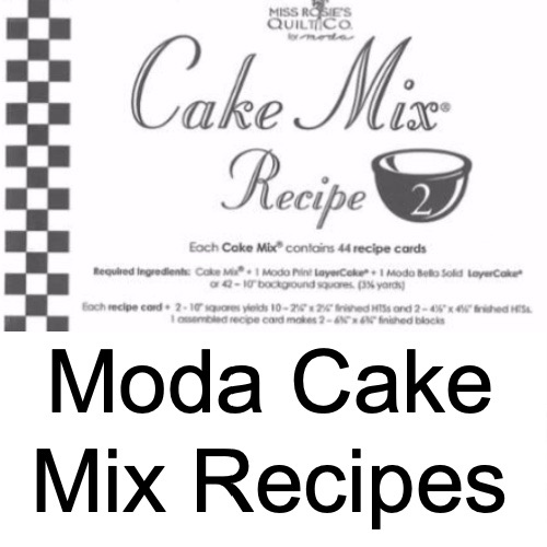 Moda Cake Mix Recipes