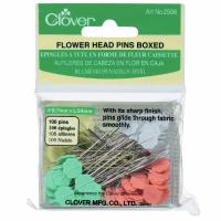 Flower Head Pins (Clover)