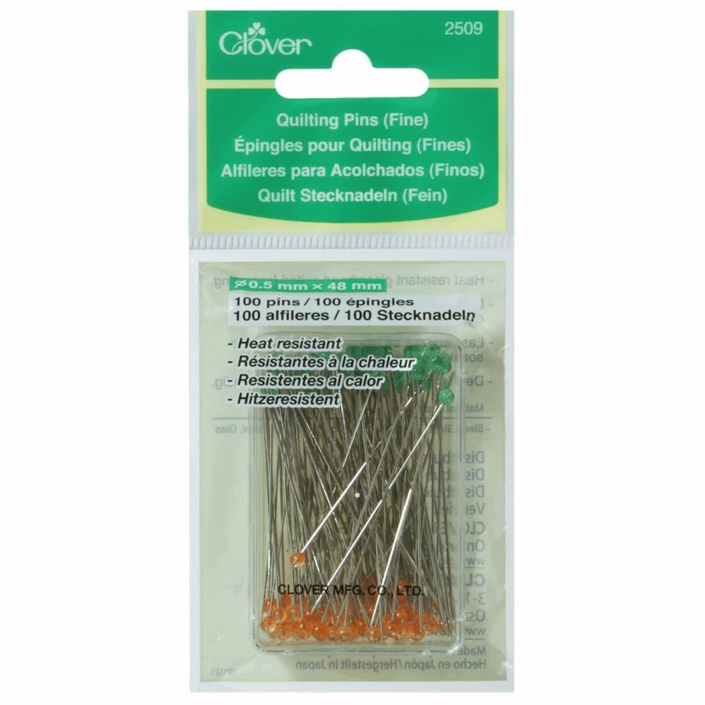 Quilting Pins - Fine - 48mm (Clover)