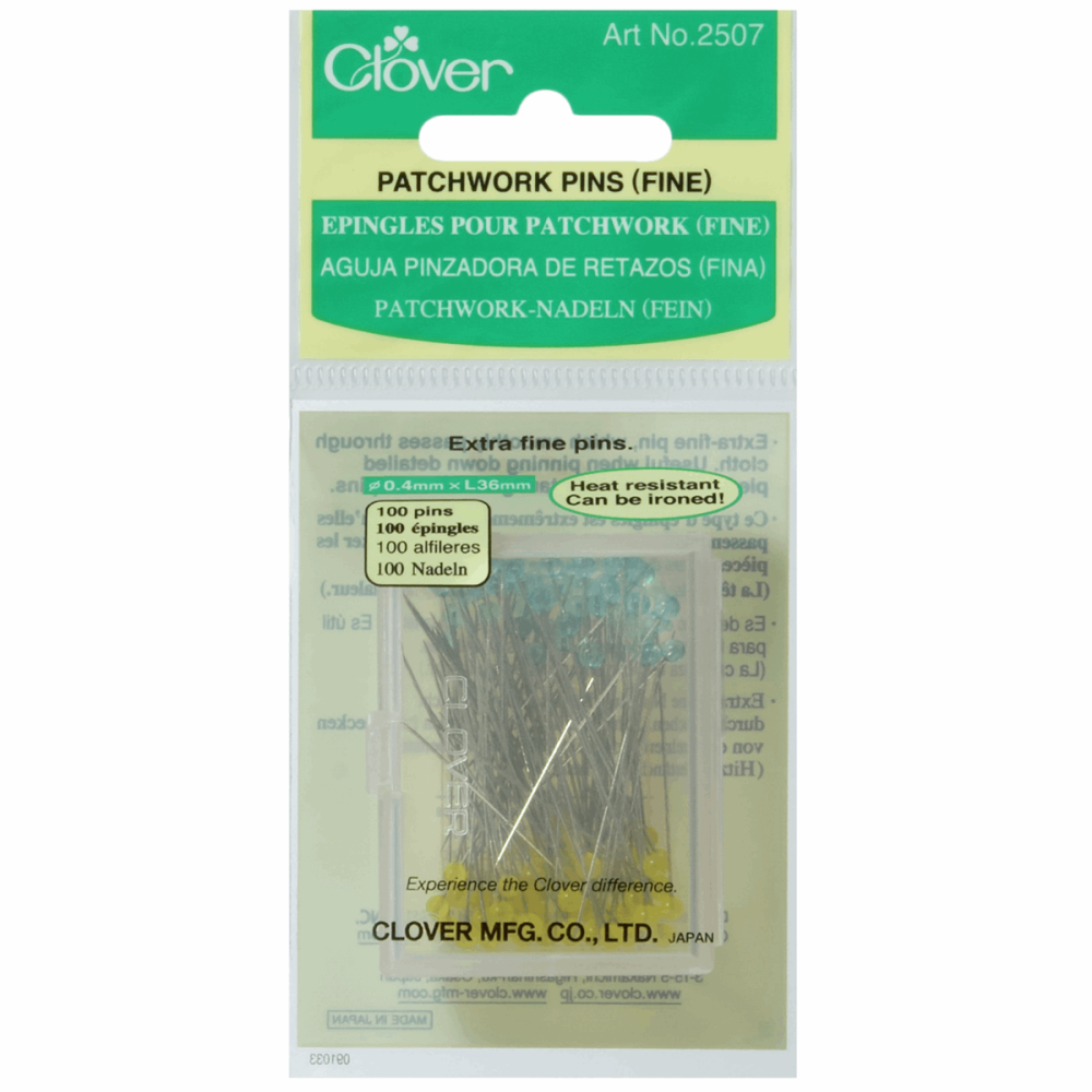 Patchwork Pins - Fine - 36mm (Clover)