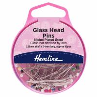 Glass Head Pins (Hemline)