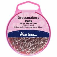 Dressmaker's Pins - Dipped Head (Hemline)