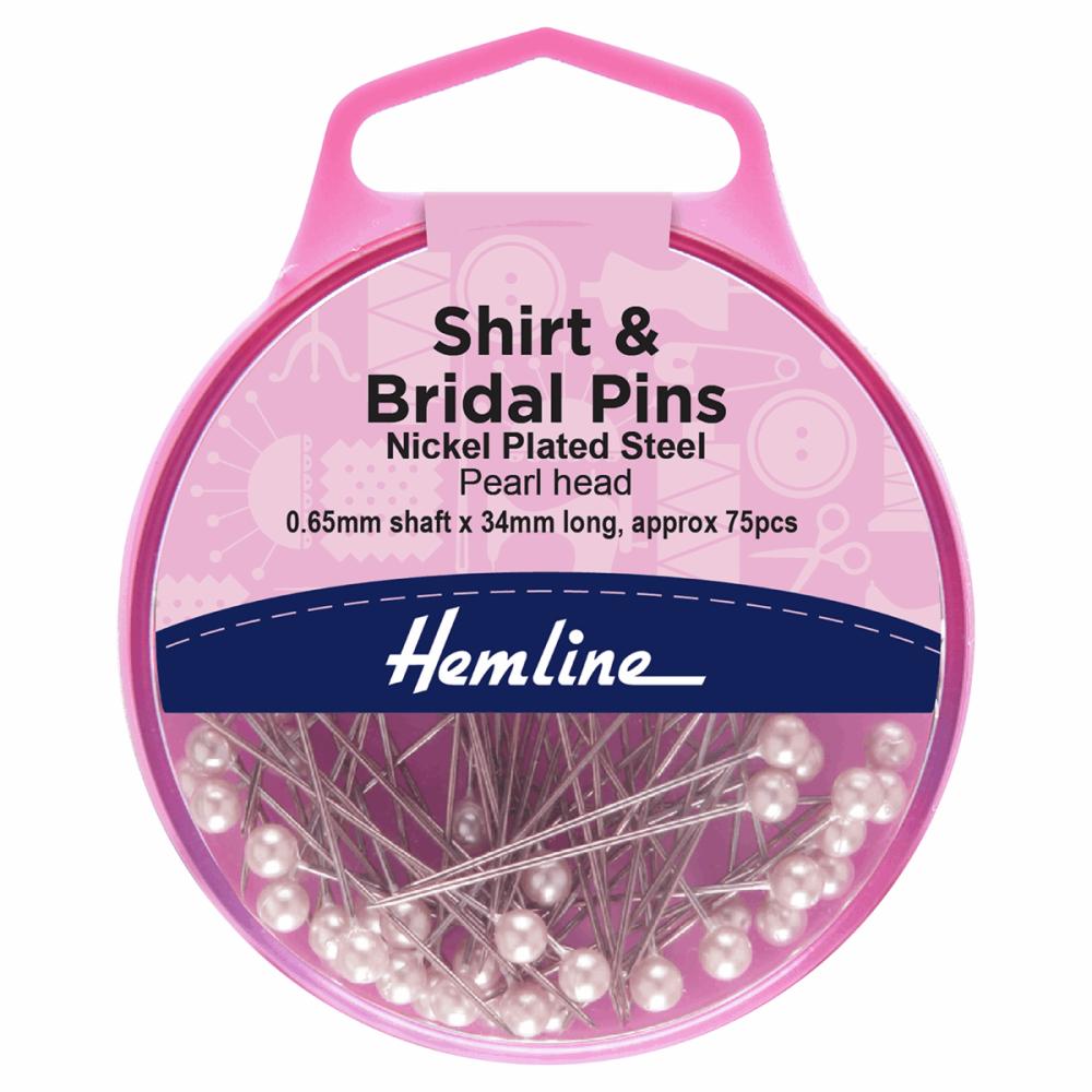 Shirt and Bridal Pins (Hemline)