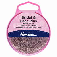 Bridal and Lace Pins (Hemline)