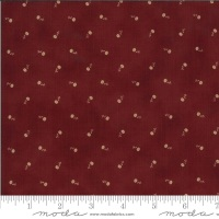 Moda - Redwork Gatherings - Carnation - 49113 16 (Dark Red)