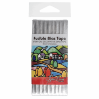 Fusible Bias Tape - Silver (Sew Easy)