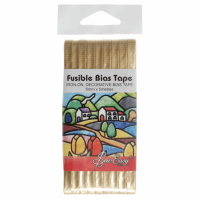 Fusible Bias Tape - Gold (Sew Easy)