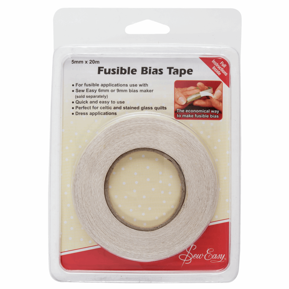 Fusible Bias Tape - 5mm wide (Sew Easy)