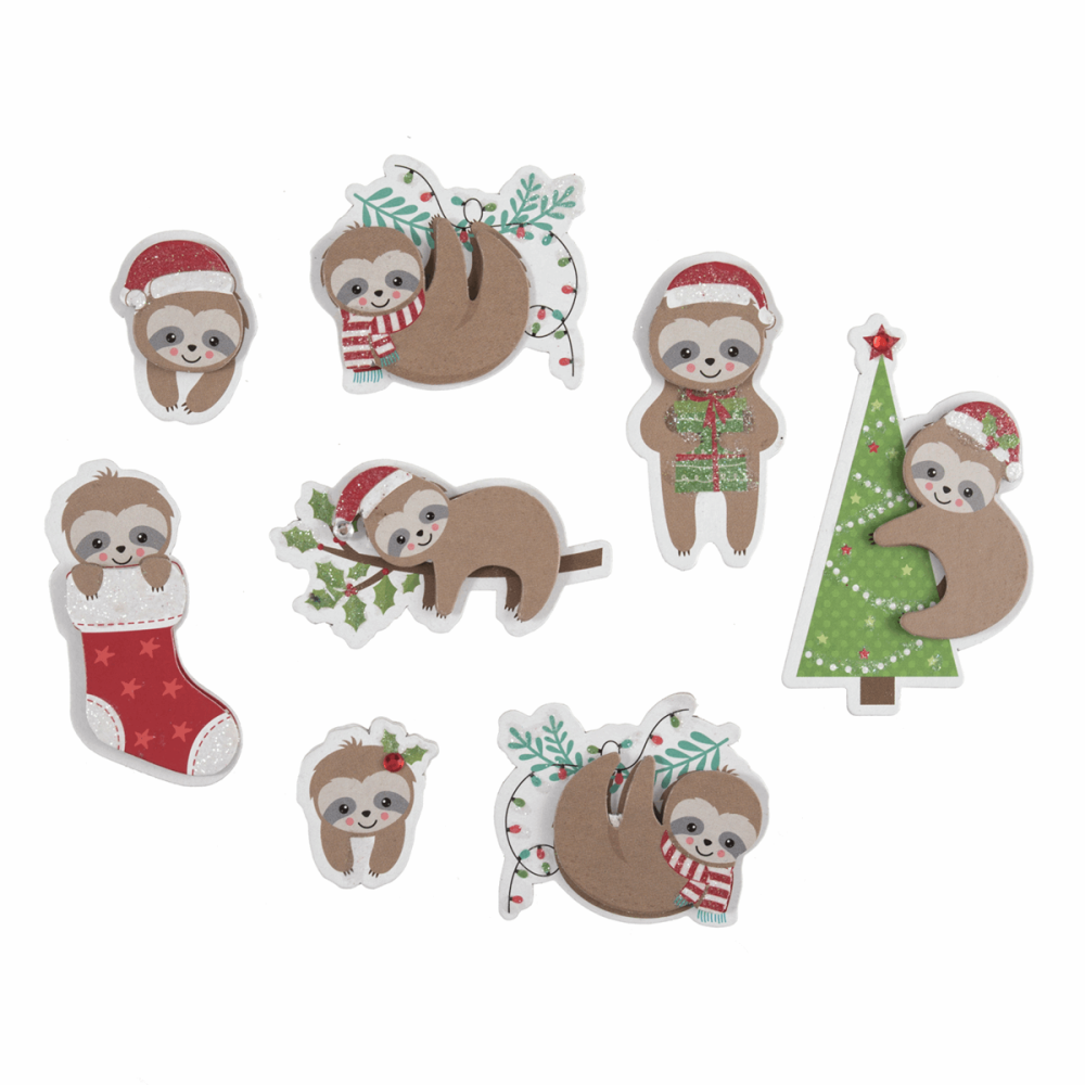 Festive Sloths