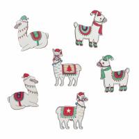 Festive Llamas (8 Pieces)