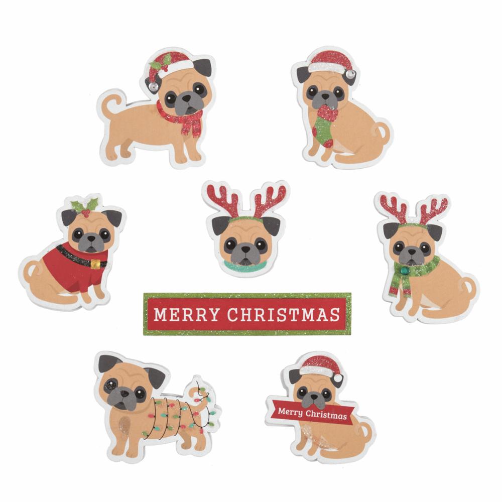 Festive Pugs