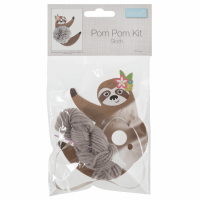 Pom Pom Decoration Kit: Sloth