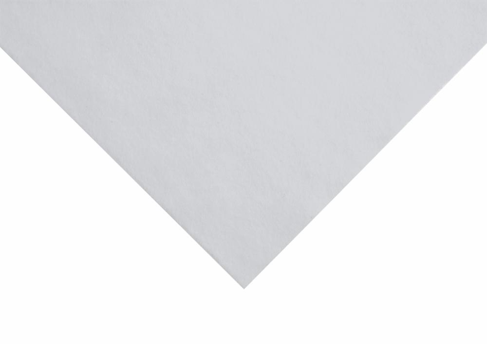 Felt - White (Wool / Viscose)